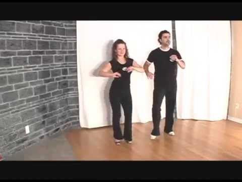 Homme danse Salsa seul vouloir